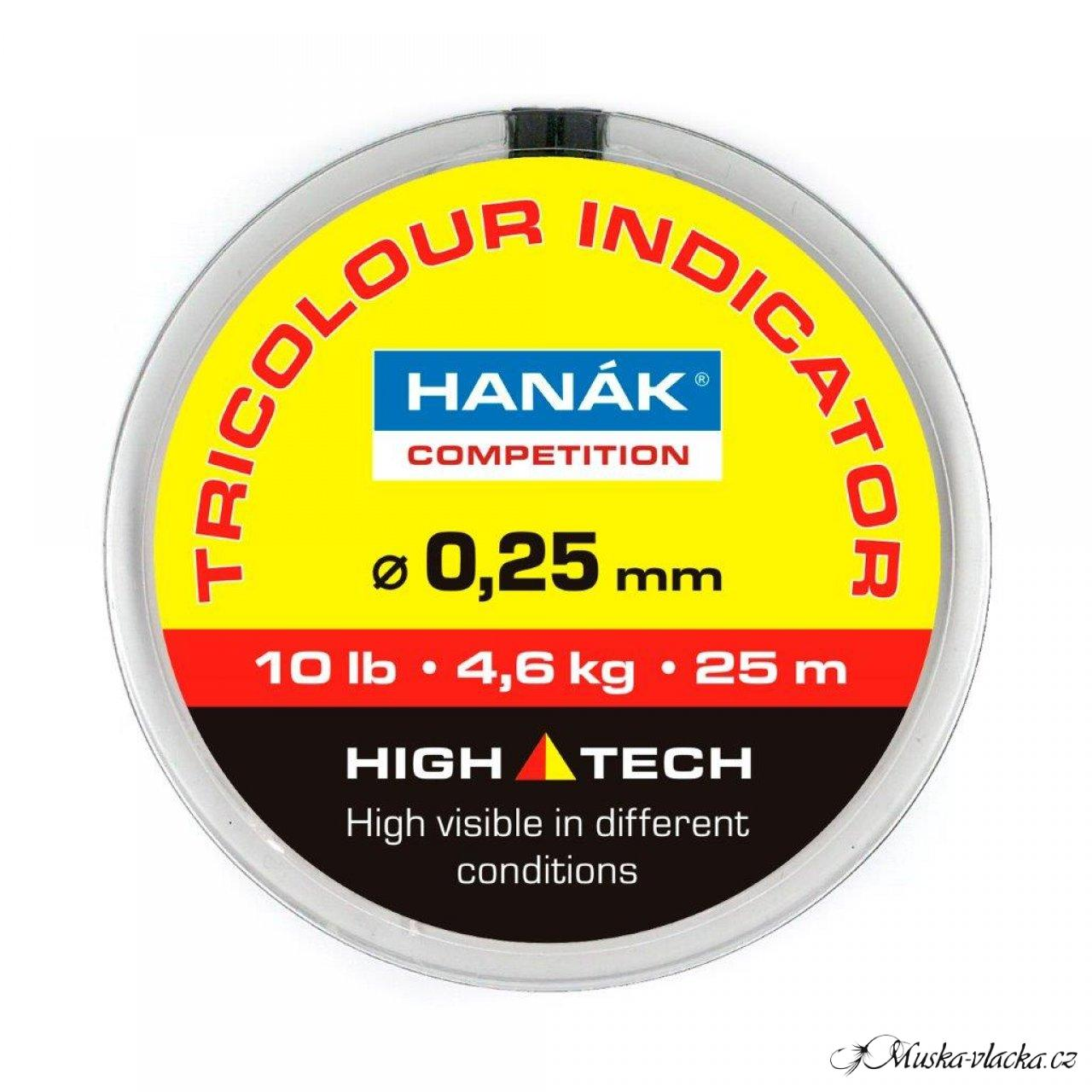 HANÁK Competition Tricolour Indicator Line 25 m