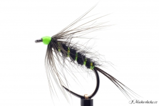 Black&chartreuse wet