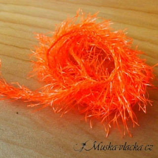 Neon Hackle - Fluo Orange