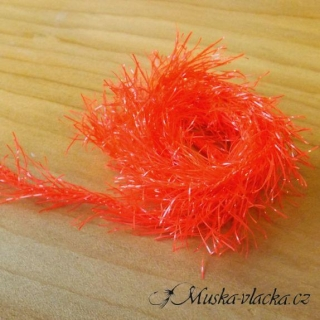 Neon Hackle - Fluo red
