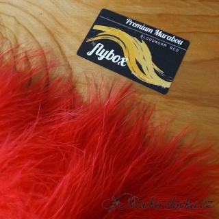 Premium marabou - Bloodworm red